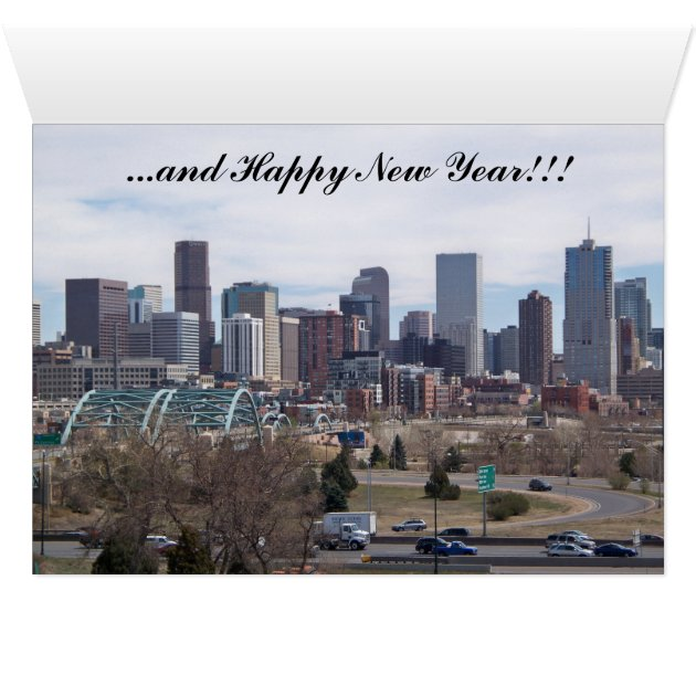 Denver Colorado Christmas Card Zazzle