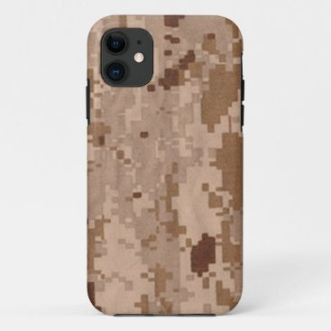 Desert Digital  Military Camouflage iPhone 11 Case