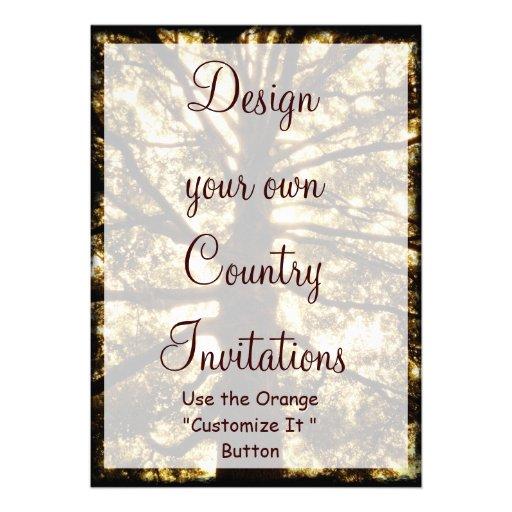 Design Your Own Invitations