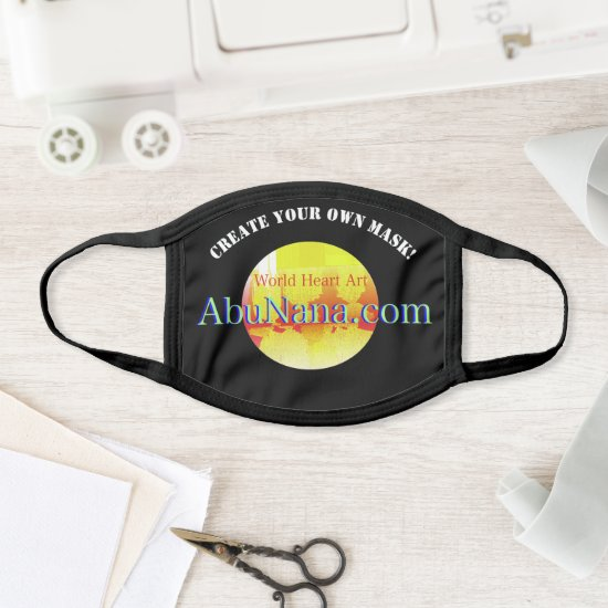 Design Your Own Face Mask with Editable Template