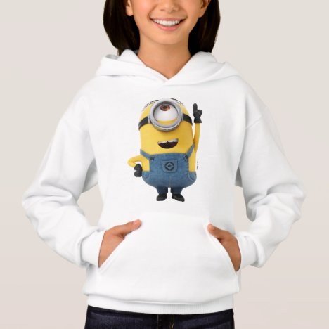 Despicable Me | Minion Stuart Pointing Up Hoodie