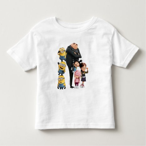 Despicable Me | Minions, Gru & Girls Toddler T-shirt