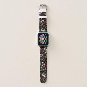 Día De Los Muertos LOONEY TUNES™ Pattern Apple Watch Band