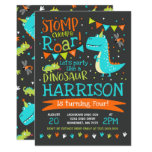 Dinosaur Birthday Invitation Dinosaur Roar Party