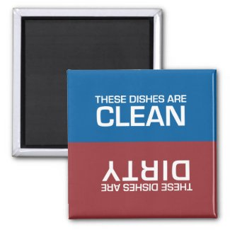 Dishwasher Clean or Dirty Magnets
