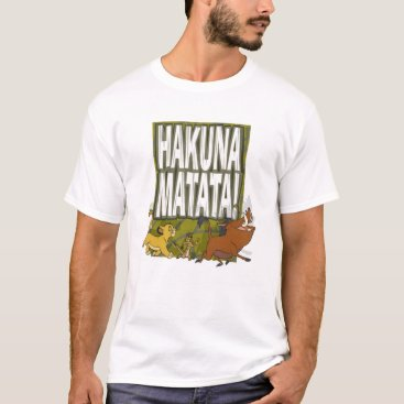 Disney Lion King Hakuna Matata! T-Shirt