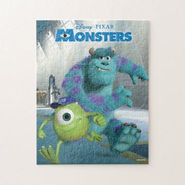 Disney Pixar Monsters Movie Poster Jigsaw Puzzle