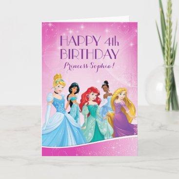 Disney Princess | Happy Birthday Card