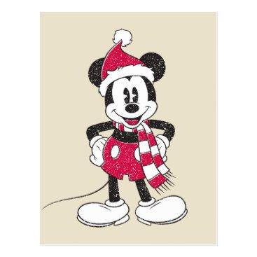 Disney | Vintage Mickey - Festive Fun Postcard