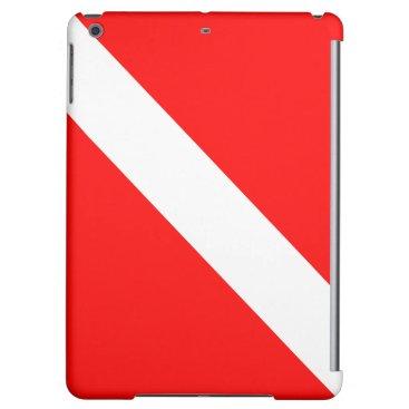 Diving Flag Scuba Diver Diver Down Case For iPad Air