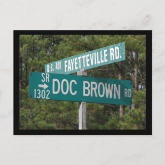 Doc Brown Rd Postcards