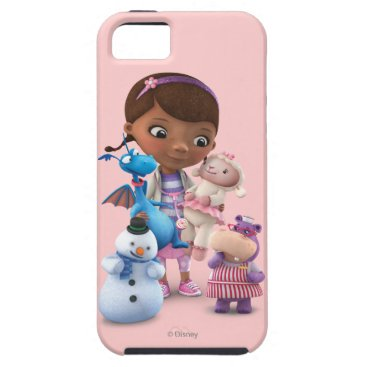 Doc McStuffins and Her Animal Friends iPhone SE/5/5s Case