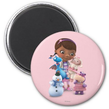 Doc McStuffins and Her Animal Friends Magnet