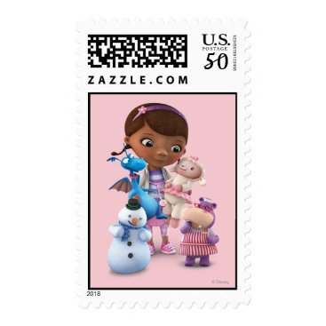 Doc McStuffins and Her Animal Friends Postage