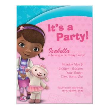 Doc McStuffins Birthday Invitation