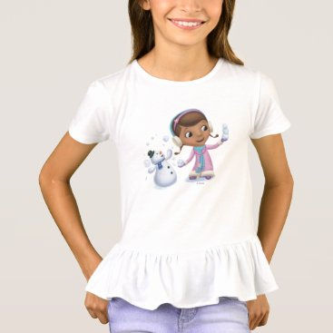 Doc McStuffins | Doc And Chilly Playing In Snow T-Shirt