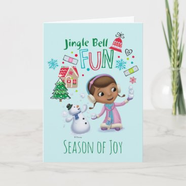 Doc McStuffins | Jingle Bell Fun Holiday Card