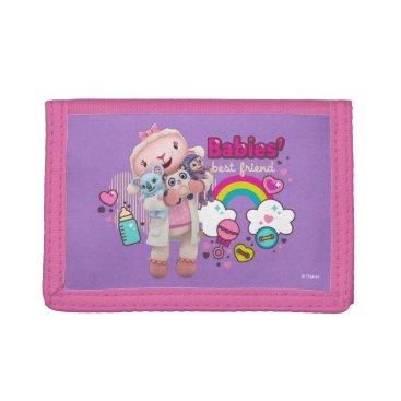 Doc McStuffins | Lambie - Babies Best Friend Tri-fold Wallet