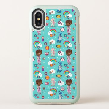 Doc McStuffins   The Care Team Pattern OtterBox Symmetry iPhone X Case
