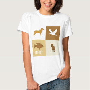 Dog, Bird, Cat & Fish Shirt