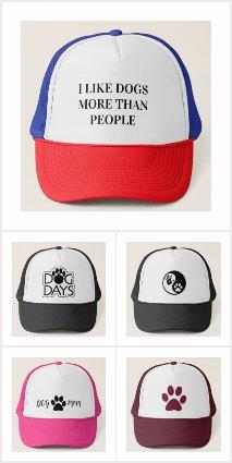 Dog trucker hats