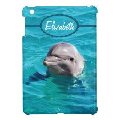 Dolphin in Blue Water Photo iPad Mini Cover