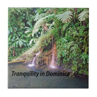 Dominica Island Ceramic Tile
