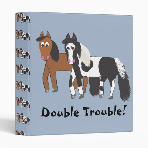 Double Trouble! 3 Ring Binder