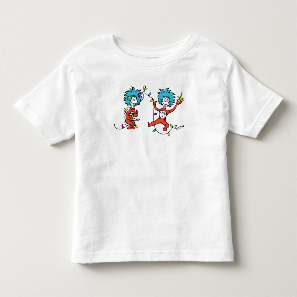 Dr. Seuss | The Grinch | Thing 1 & Thing 2 Dancing Toddler T-shirt