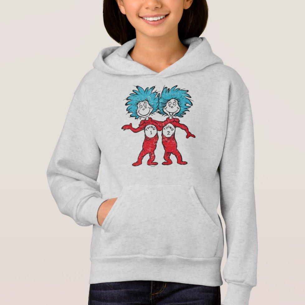 Dr. Seuss | Thing 1, Thing 2 Kids Hoodie