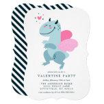 Dragon Heart Cute Valentine Party Invitation