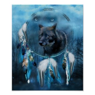 Dream Catcher - Midnight Spirit Posters