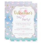Dreamy Watercolor Valentine's Day Party Invitation
