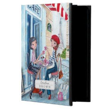 Drinking Tea Girls in Paris | iPad Air 2 Case