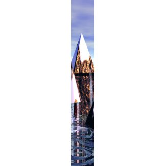 Dry Ice Ys Reflections Men's Tie by cricketdiane tie