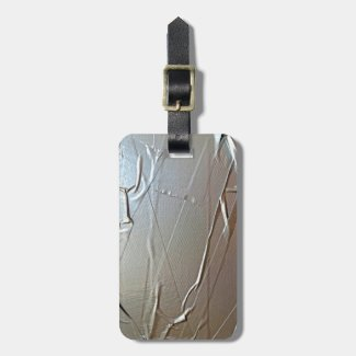 Duct Tape Look Bag Tags