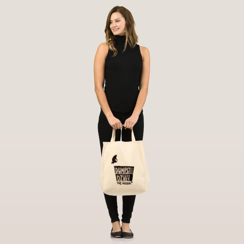 Dumpster Diver the musical™ official tote bag