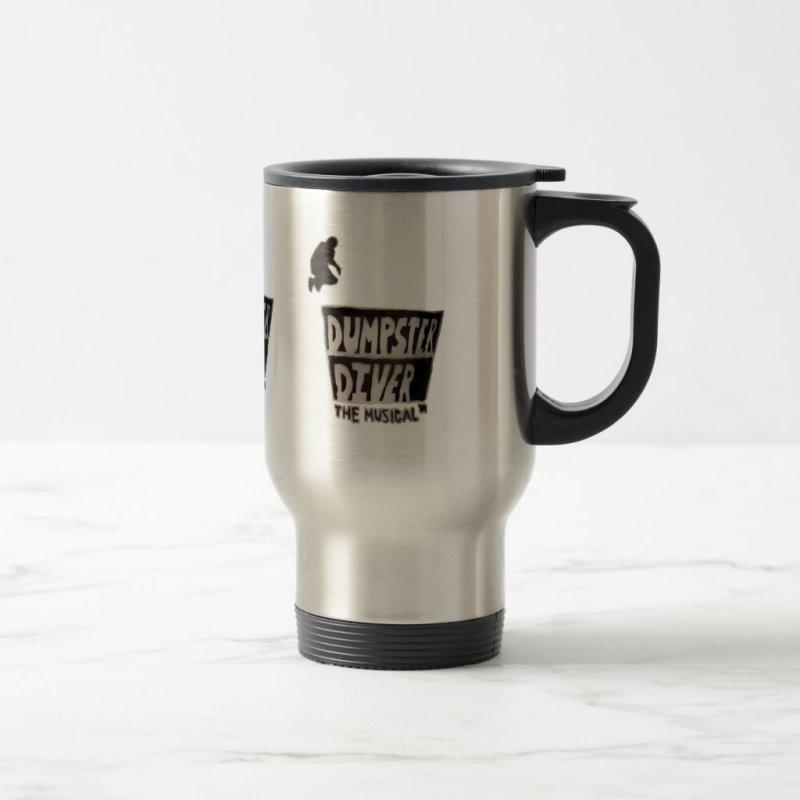 Dumpster Diver the musical™ travel mug
