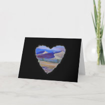 Dune Heart Romance Valentine Love Card