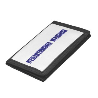 Dysautonomia Warrior simple design Tri-fold Wallets
