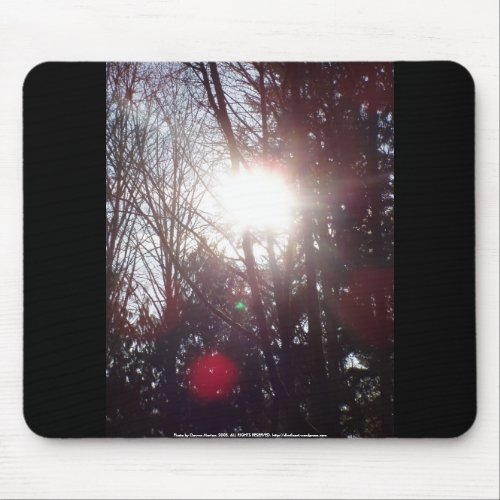 Early Morning Sun Rays #19 mousepad