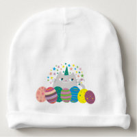 Easter Baby Cat Unicorn Caticorn Cute Funny Magic Baby Beanie