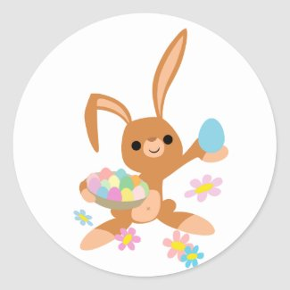 Easter Bunny sticker sticker