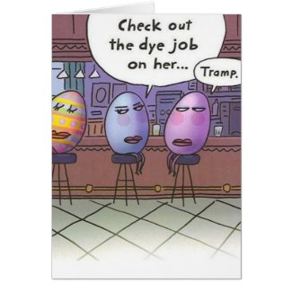 Easter Dye Job - Card