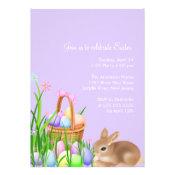 Easter Egg Garden Easter Dinner Party Invitation