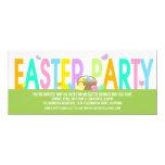 ❤️ Fun Colorful Easter Brunch Invitation