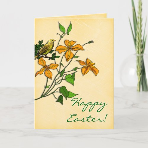 Easter Tiger Lily (card) card