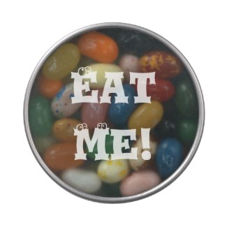 Eat Me! Jelly Belly Candy Tins