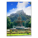Edinburgh Castle Customize greeting card