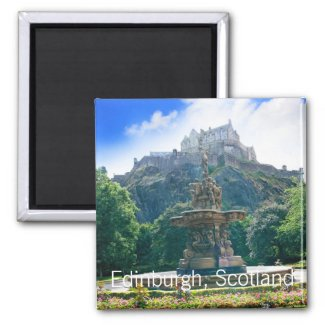 Edinburgh Castle, Scotland Magnet